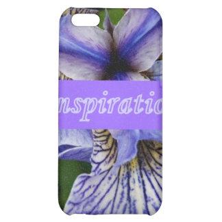 Wild Iris alaska wildflower i phone 4 speckcase Case For iPhone 5C