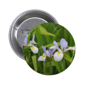 Wild Iris Buttons