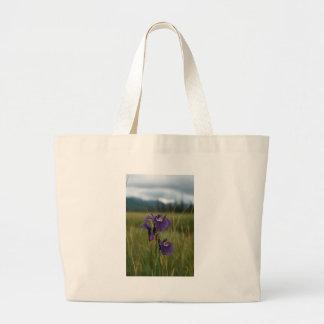 Wild Iris Canvas Bags