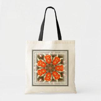 Wild Iris Berry Design ~ Budget Tote Canvas Bag