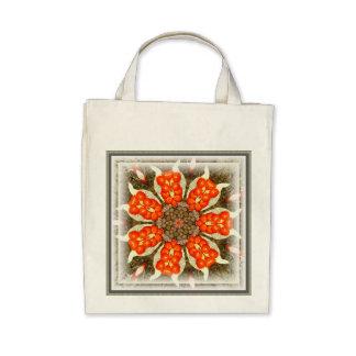 Wild Iris Berry Design ~ Organic Grocery Tote Bags