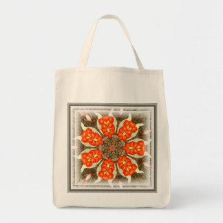 Wild Iris Berry Design ~ Organic Grocery Tote Grocery Tote Bag