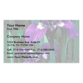 Wild Iris Business Card Template