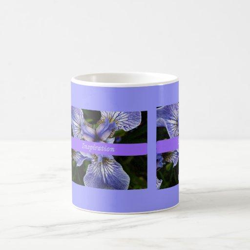 Wild Iris Inspiration mug