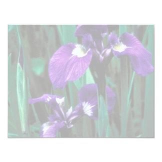 Wild Iris Custom Invites