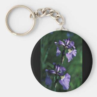 Wild Iris Key Chains