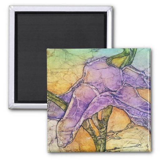 Wild Iris Magnets