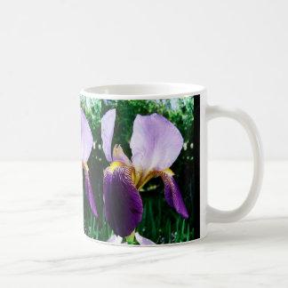 Wild Iris Mug Basic White Mug