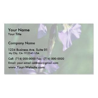 Wild Iris Pack Of Standard Business Cards