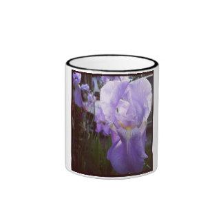 Wild Iris Ringer Mug