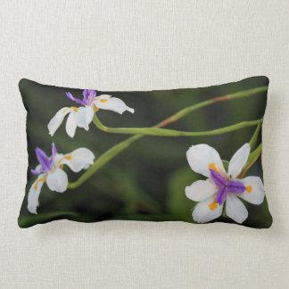 Wild Iris Throw Pillow / Cushion