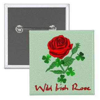 Wild Irish Rose Pin