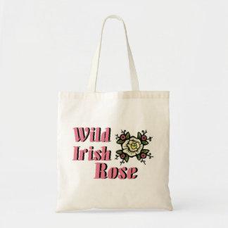 Wild Irish Rose Canvas Bag