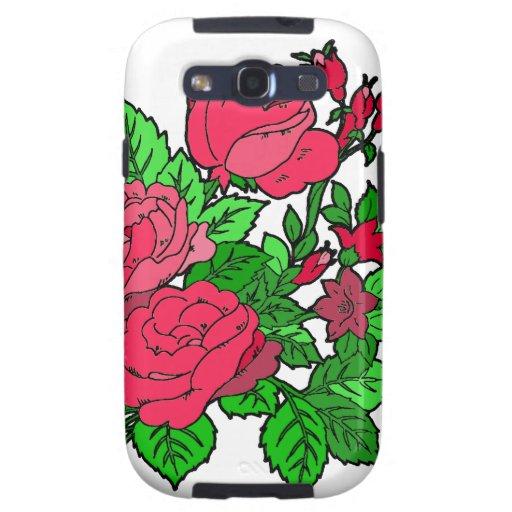 Wild Irish Rose Galaxy S3 Covers
