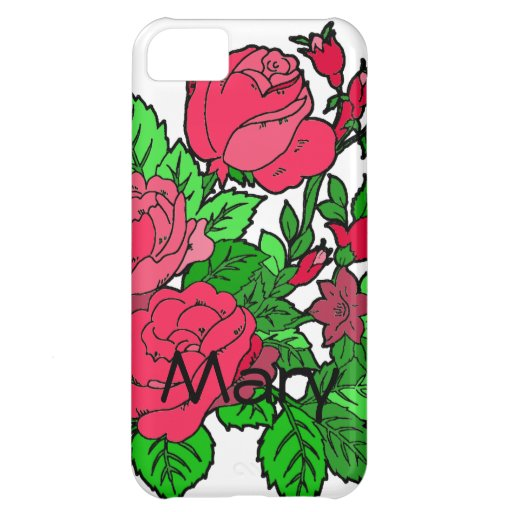 Wild Irish Rose iPhone 5C Cases