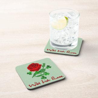 Wild Irish Rose Beverage Coasters