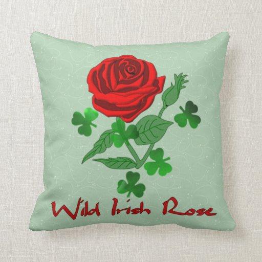 Wild Irish Rose Pillow