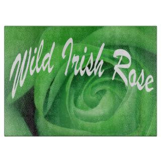 Wild Irish Rose Cutting Board
