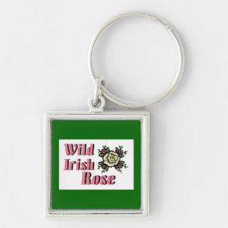 Wild Irish Rose Keychain