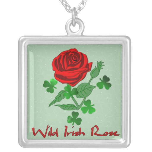 Wild Irish Rose Pendant
