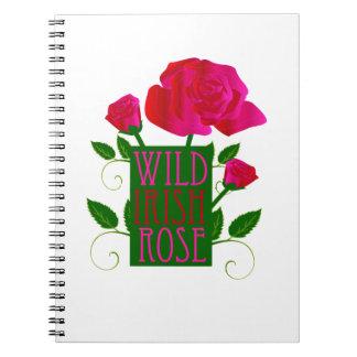 Wild Irish Rose Note Books