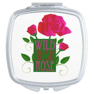 Wild Irish Rose Compact Mirrors