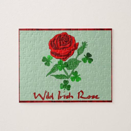 Wild Irish Rose Jigsaw Puzzle