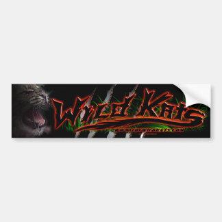 WILD KATS Band 'ROARIN' Bumper Sticker