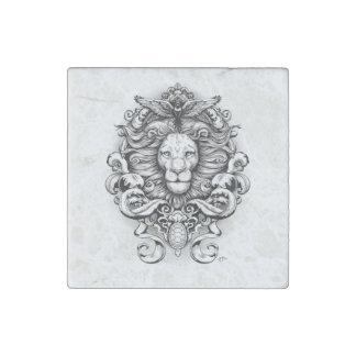 Wild Kingdom Stone Magnet