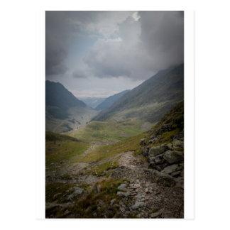 Wild landscape in Romania Postcard