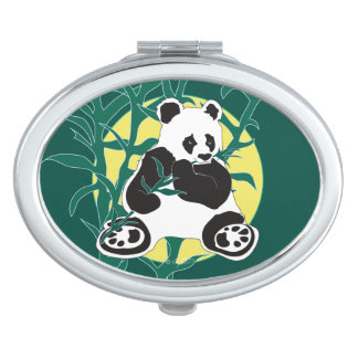 WILD LIFE BEAR  compact mirror OVAL