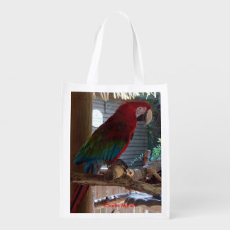 Wild Life Collection  Exotic Birds Two Sided Bag