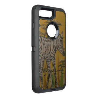 Wild Life Kenya African Safari Zebra OtterBox Defender iPhone 7 Plus Case