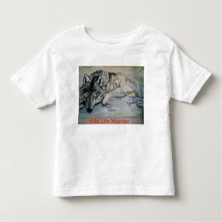 Wild Life Warrior Todler's T-Shirt. Toddler T-Shirt