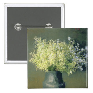 Wild Lilacs and Forget-Me-Nots, 1889 15 Cm Square Badge