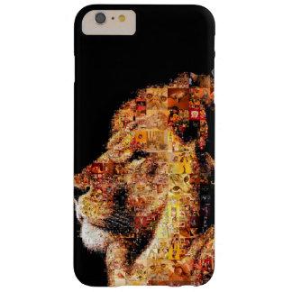 Wild lion - lion collage - lion mosaic - lion wild barely there iPhone 6 plus case