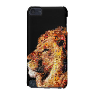 Wild lion - lion collage - lion mosaic - lion wild iPod touch 5G case