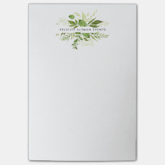 Wild Meadow Personalized Post-it Notes