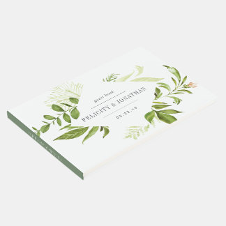 Wild Meadow Wedding Guest Book