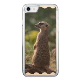 Wild Meerkat Carved iPhone 8/7 Case