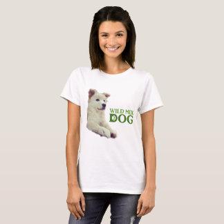 Wild mixed dog T shirt