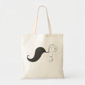 """""""Wild moustaches/girl """" Bags"""