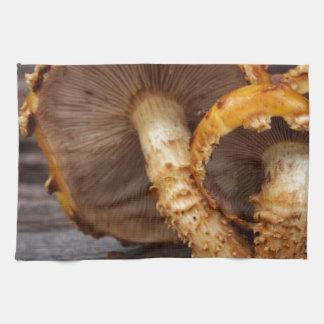 Wild Mushrooms Tea Towel