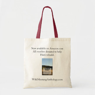 Wild Mustang Anthology budget tote Canvas Bags