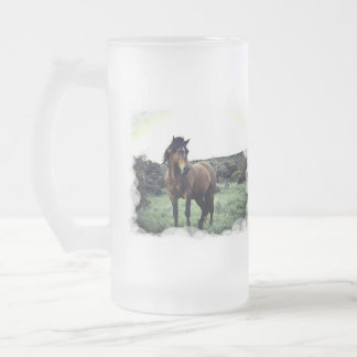 Wild Mustang Frosted Mug