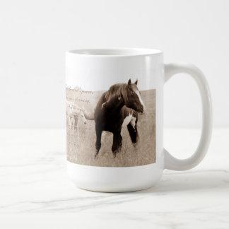 Wild Mustang Stallion~Majesty 15oz mug