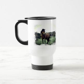 Wild Mustang Travel Mug