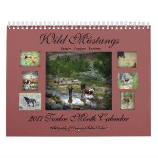 Wild Mustangs 2017 Wall Calendars