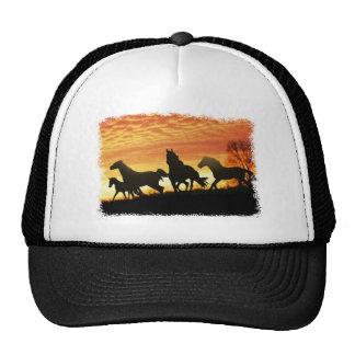 Wild Mustangs Trucker Hats