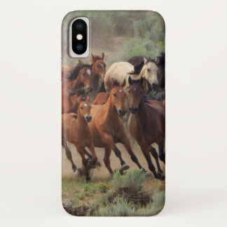 Wild Mustangs iPhone X Case